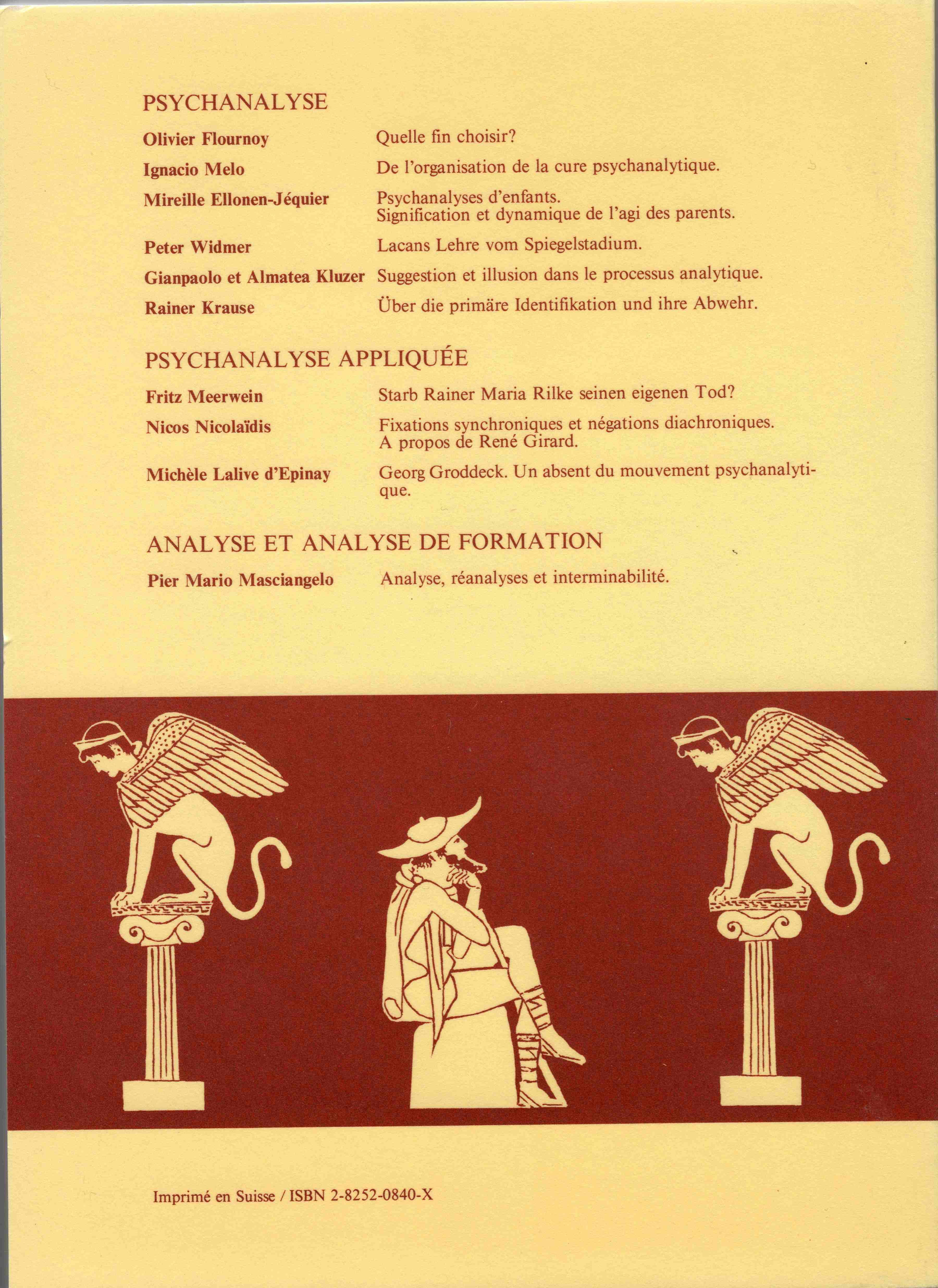 1985-Psychanalyse4eme