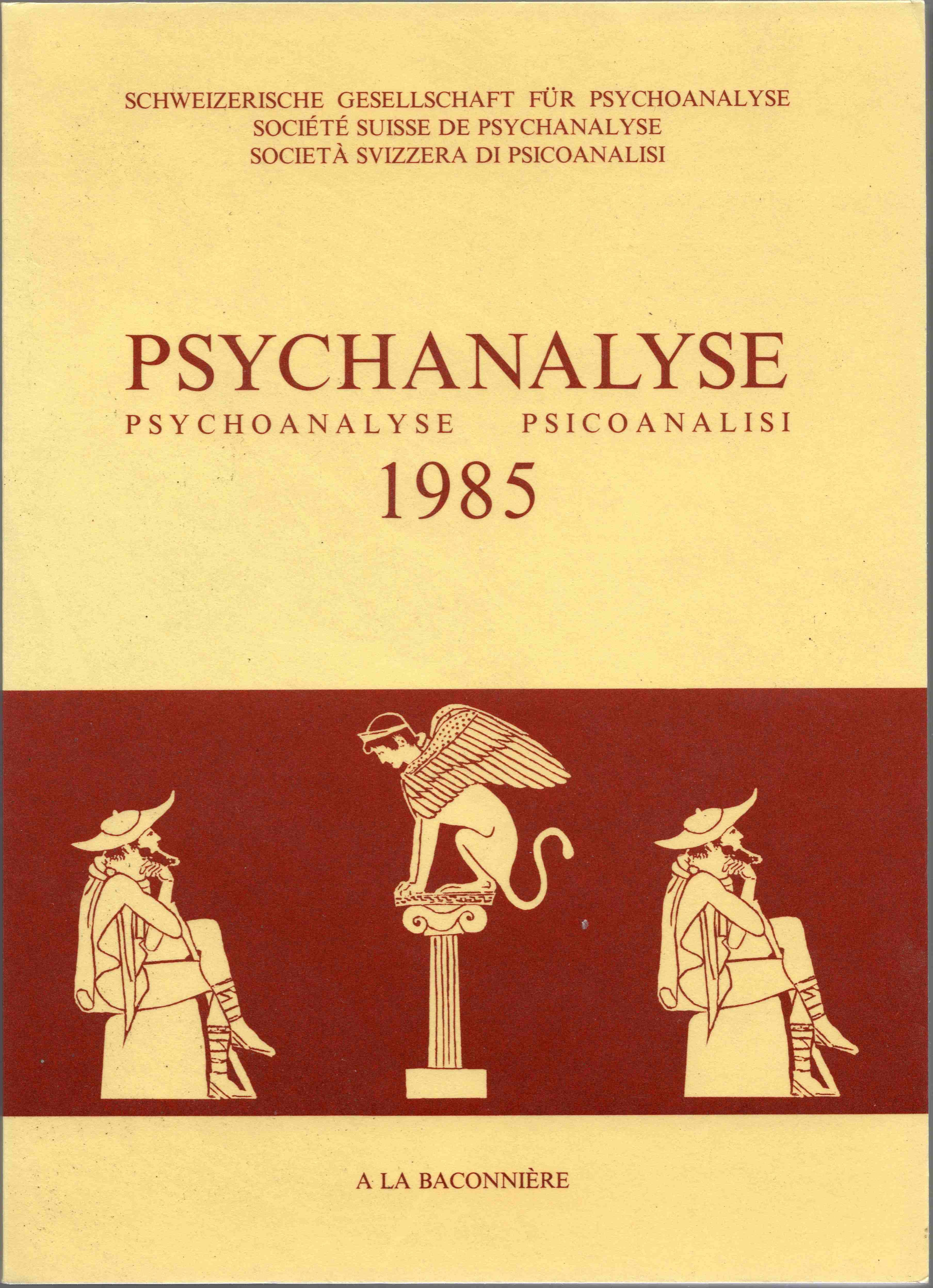 1985-PsychanalyseCouverture